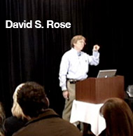David S. Rose on the art of entrepreneurs pitching ideas
